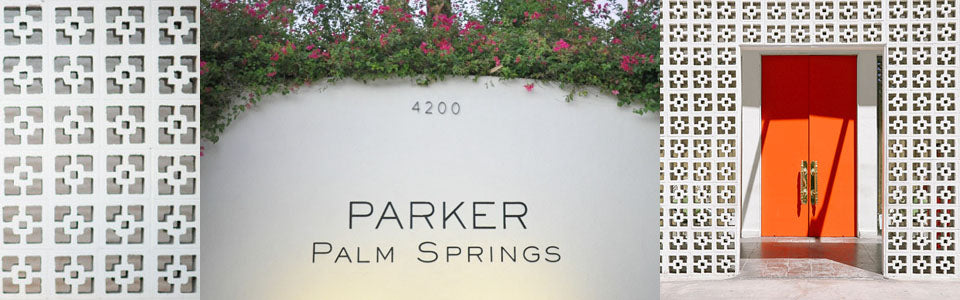 Parker Palm Springs sign