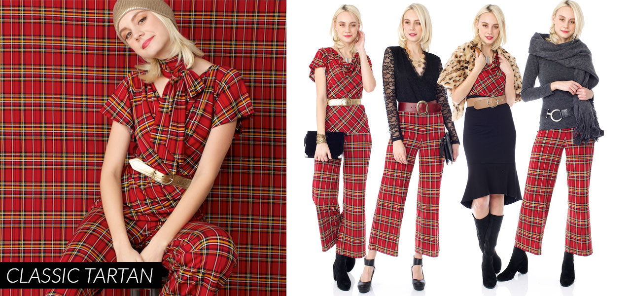 Bergstrom Holiday Plaid
