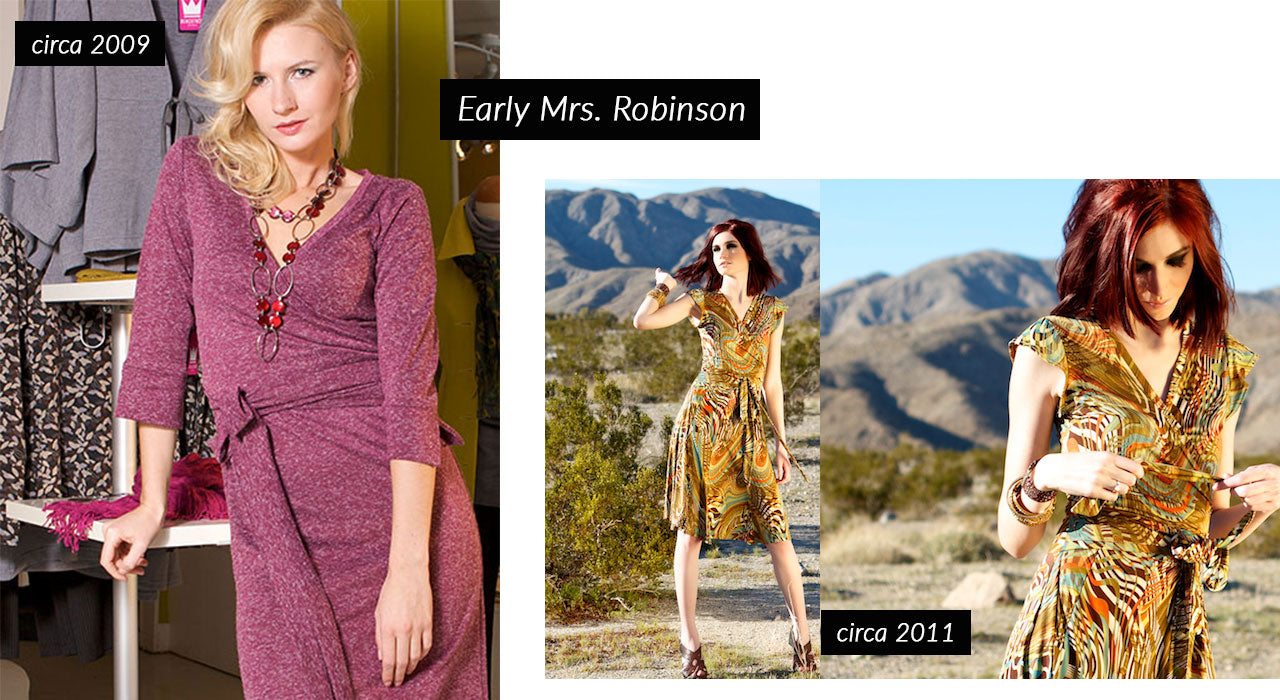 Bergstrom Originals Mrs. Robinson Dress