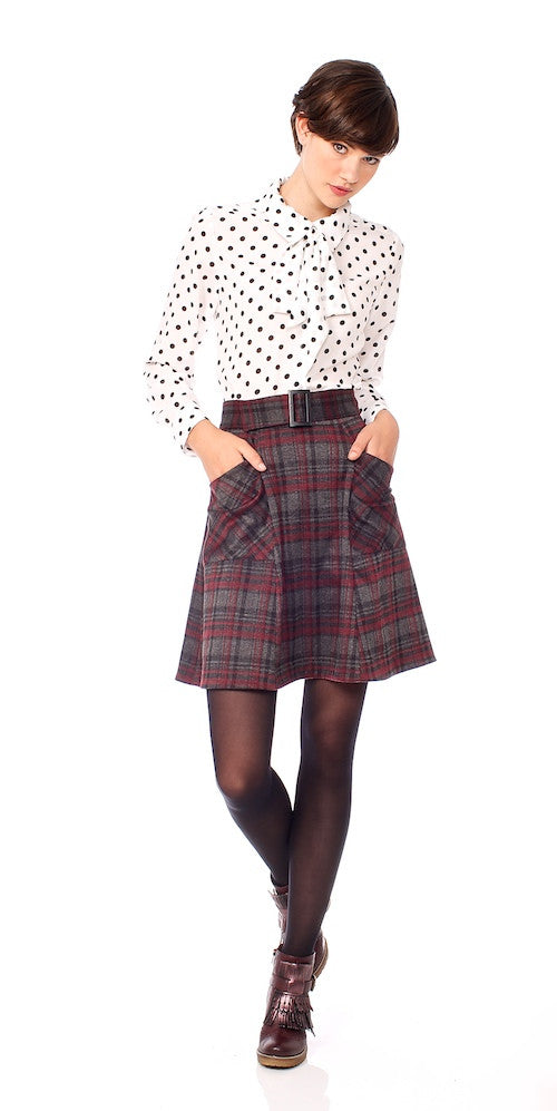 Honor Blouse, polka dot