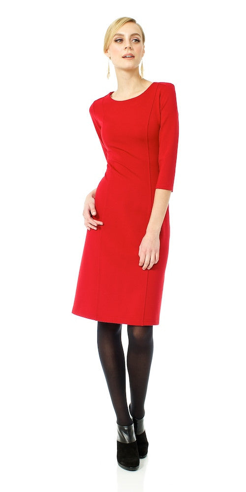 Jolie Dress, red