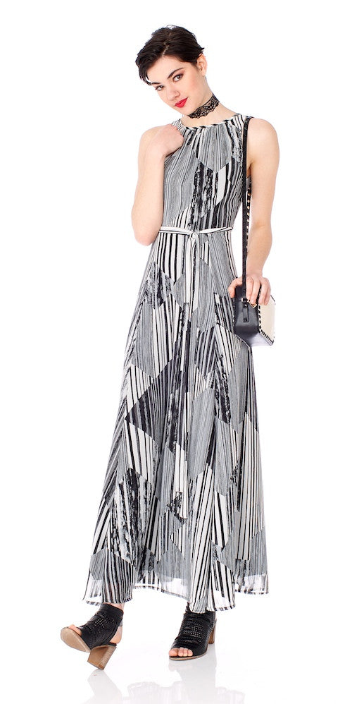 Portsmouth Dress, linear