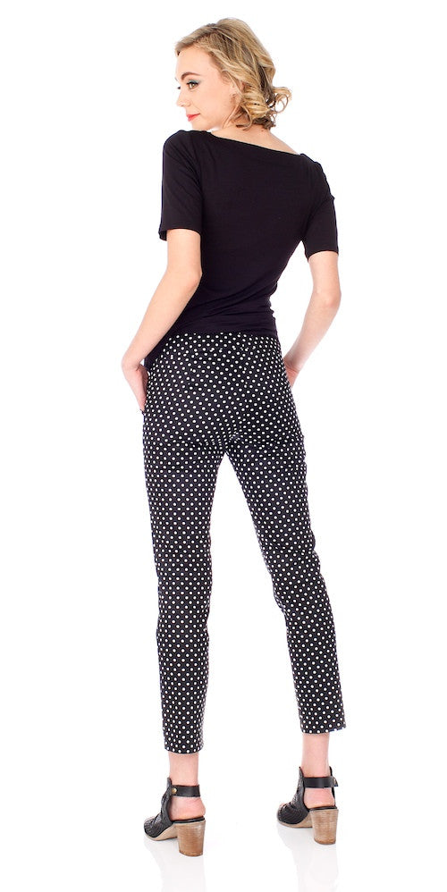 Dylan Trousers, polka dot