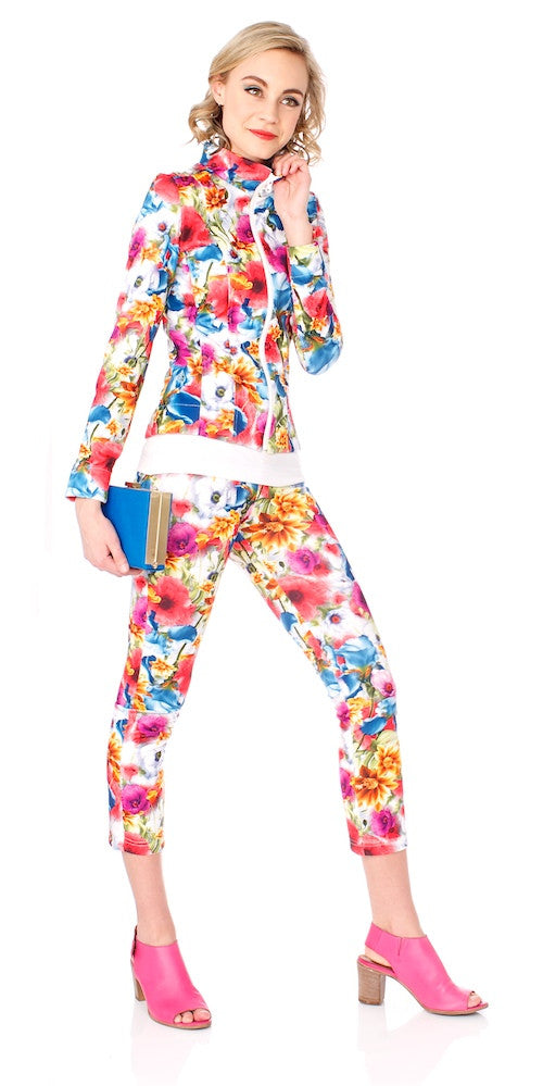 Lady B Jacket, psychedelic bloom