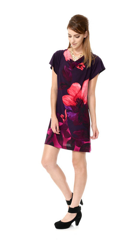 Magnolia Dress, ultra violet