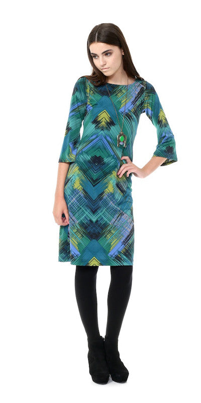 Evergreen Shift Dress