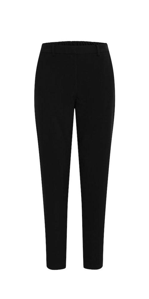 B.Young Cropped Slim Trouser, black