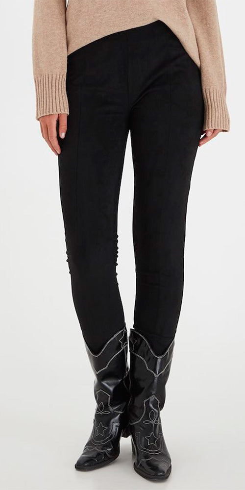 B.Young Faux Suede Leggings
