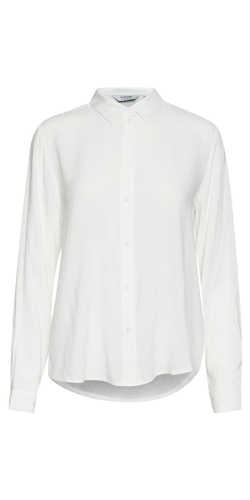 B.Young Button Down Shirt, off-white