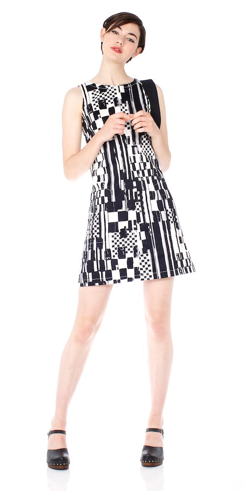 Twiggy Shift Dress, indy check