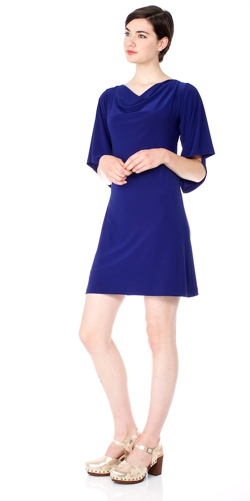 Bilbao Dress, marine blue