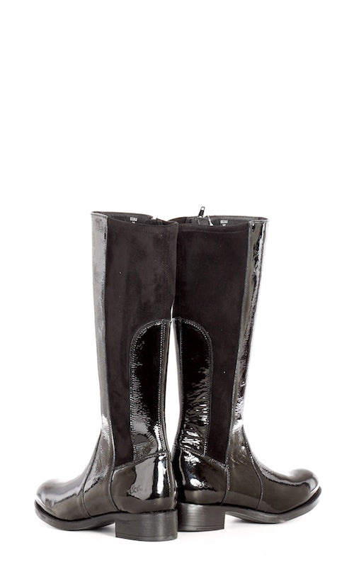 Bos & Co Beau, black patent