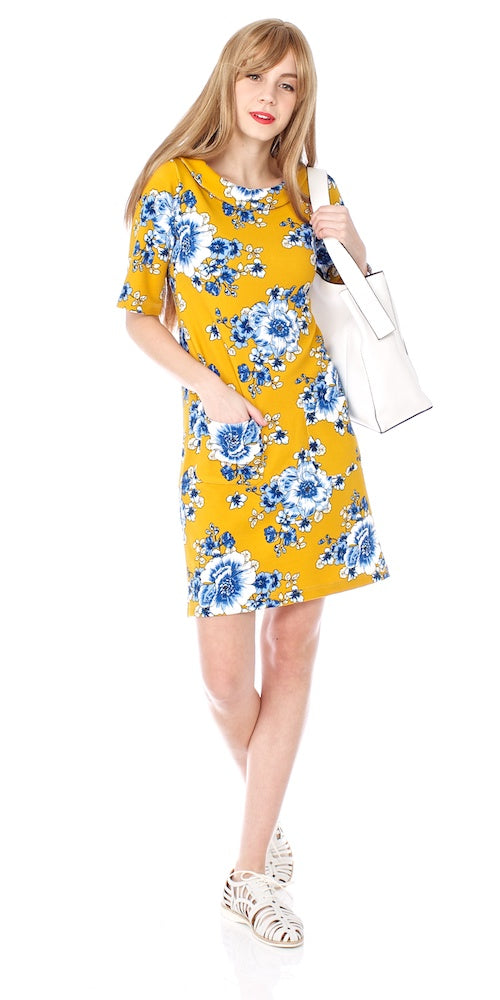 Portia Dress, uppsala bloom