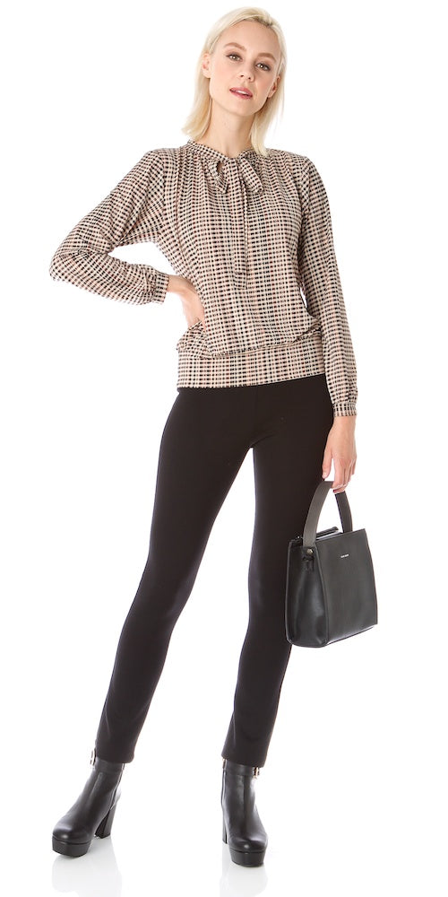 Duchess Blouse, english check