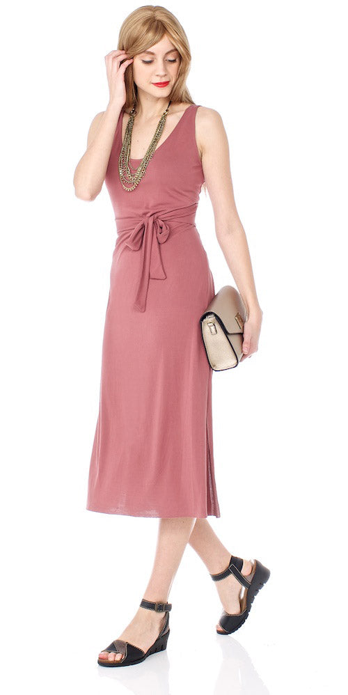 Harmony Back Wrap Dress, blossom