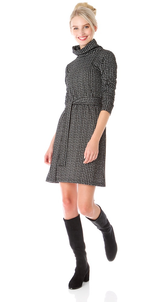 Miller Turtleneck Dress