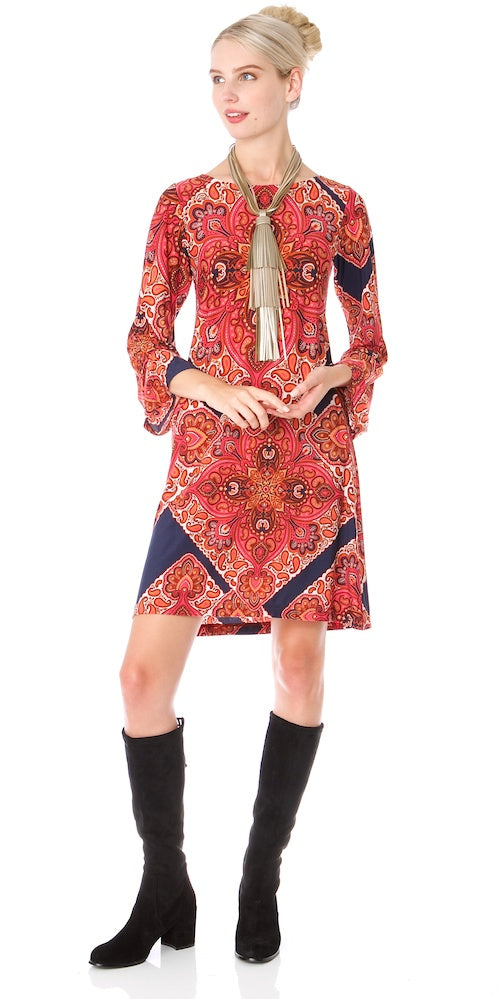 Bella Dress, marrakesh spice