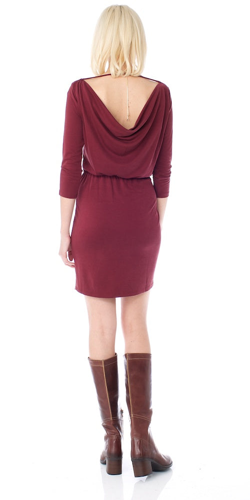 Gentle Fawn Christelle Dress, auburn burgundy