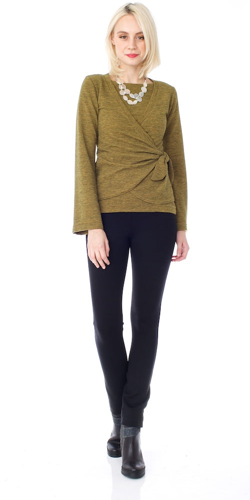 Urbanite Boatneck Sweater, mustard