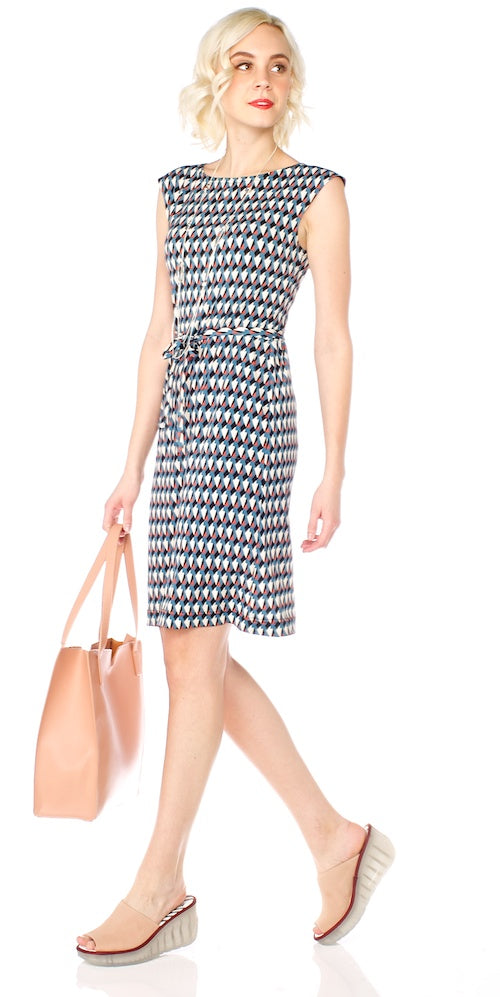 Latitude Shift Dress, diamond mix