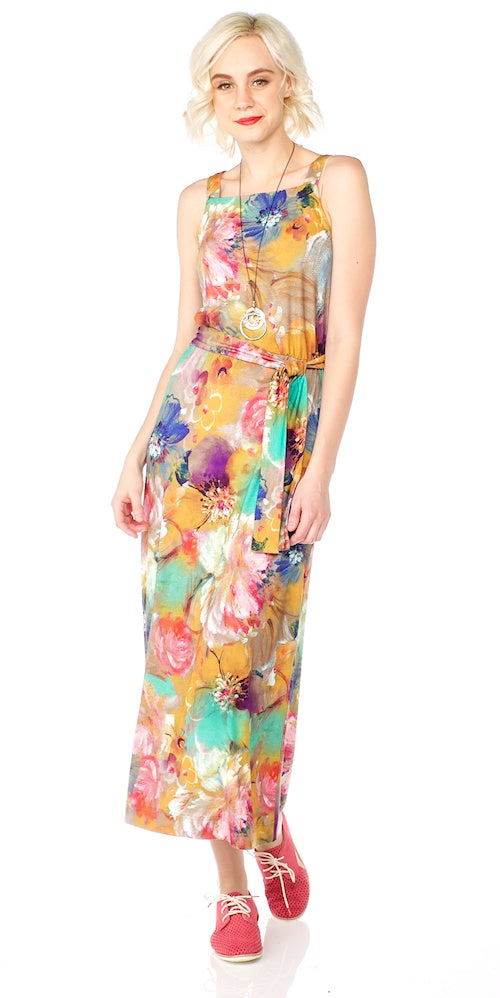 Skylar Dress, sunshine meadow