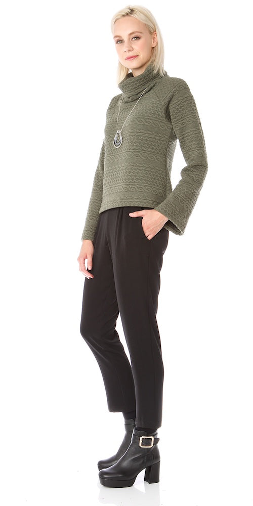 Kilarney Sweater, moss