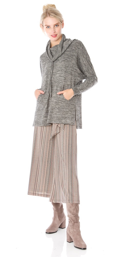Morrison Cropped Trousers (lined), english check