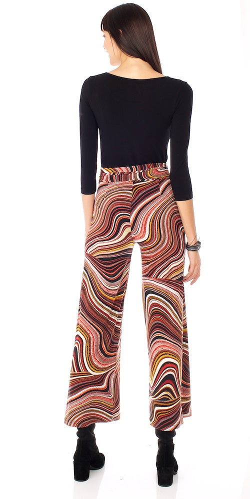 Morrisette Trousers, marbled rust