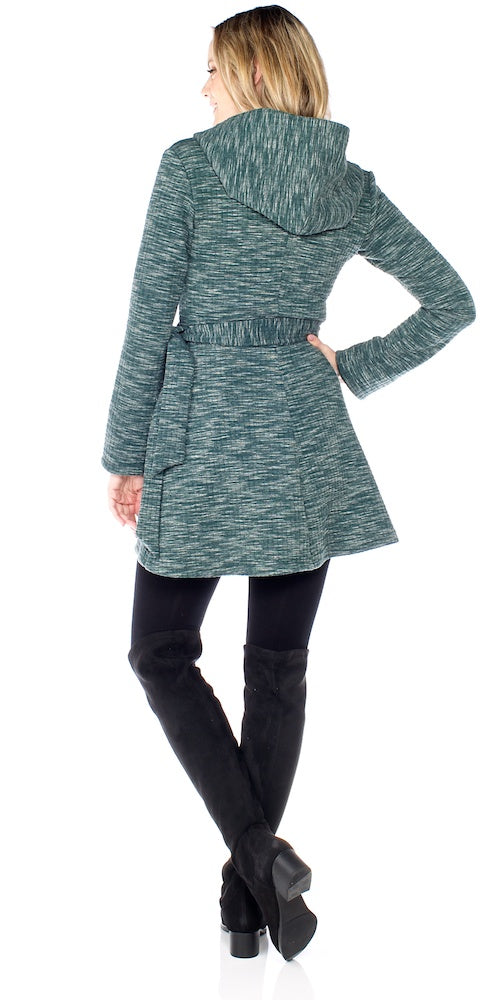 Impala Hooded Wrap, green