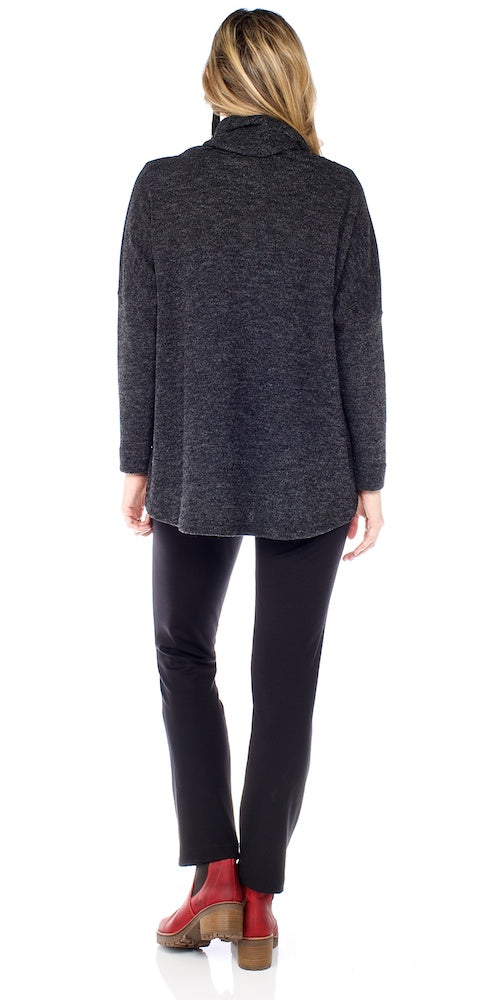 Neutra Sweater, charcoal