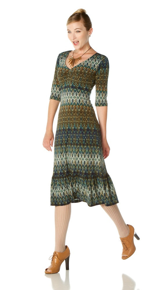 Idlewyld Dress, forest