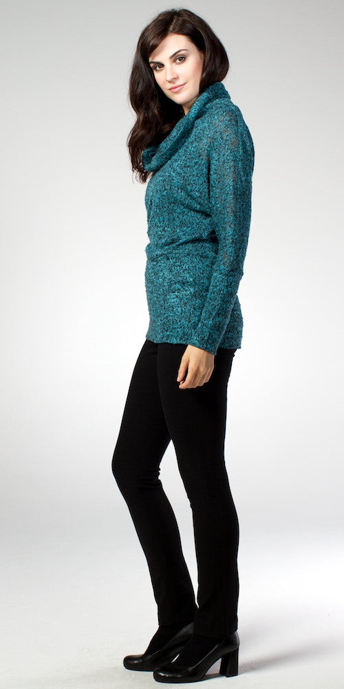 Piccadilly Sweater, teal