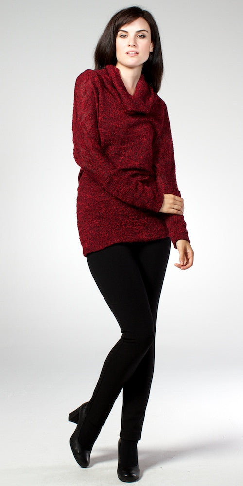 Piccadilly Sweater, raspberry