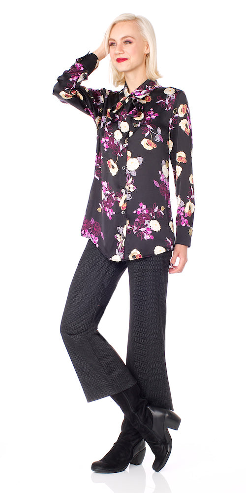 Patrice Blouse, plum bloom