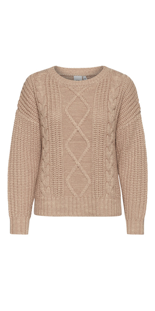 Ichi Cableknit Pullover