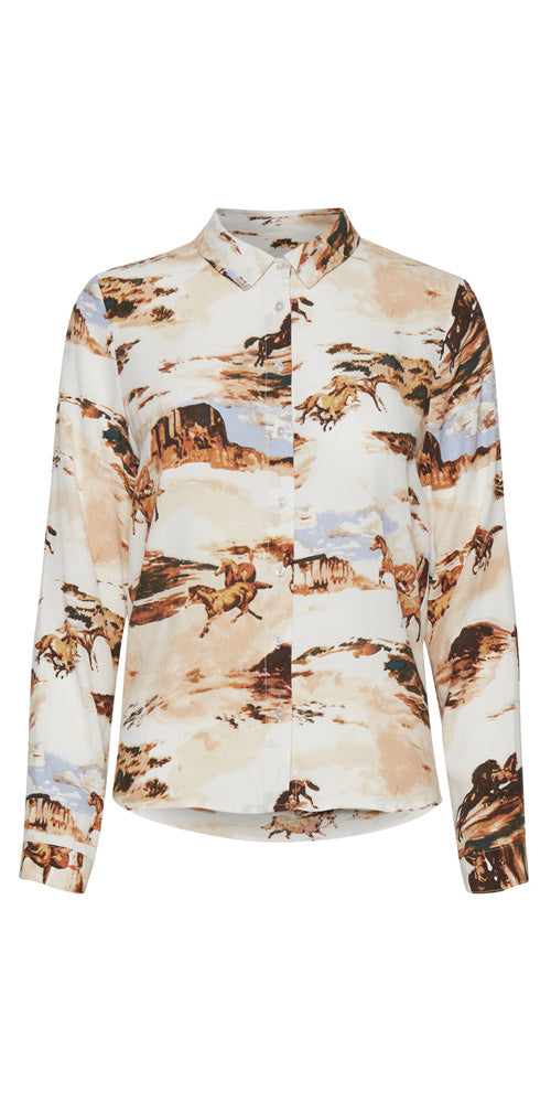 Ichi Wild West Blouse