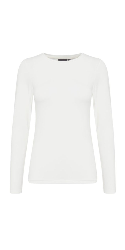 B.Young Long Sleeved Top, off-white