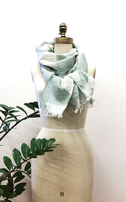 Quadrant Scarf, mint