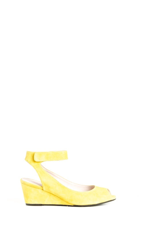 Sacha London Venice, lemon suede