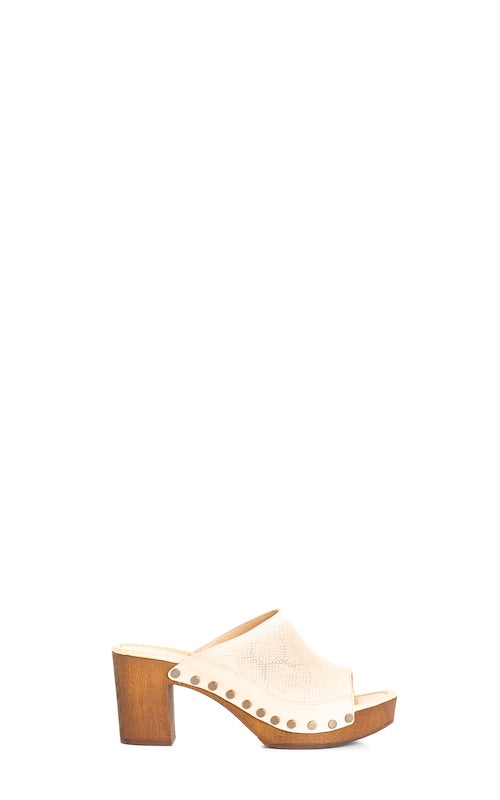 Ten Points Eva Slide, sand nubuck