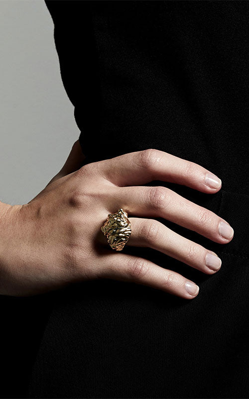 Pilgrim Tolerance Ring, gold