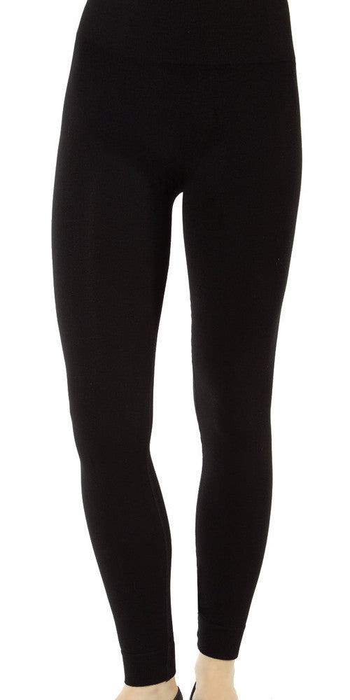 Bamboo Leggings, high-waisted