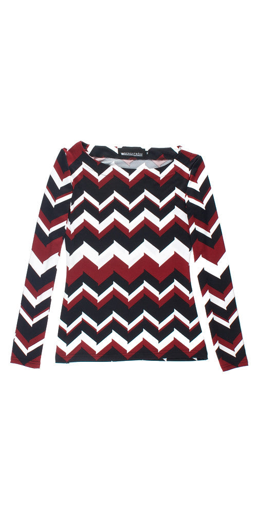 Impulsive Chevron Top