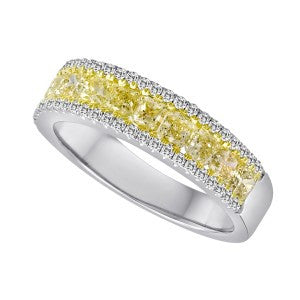 YELLOW ROCK CANDY Diamond Band Ring-Interings-Howard's Diamond Center