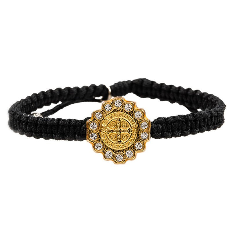 Gold Brilliance Bracelet-My Saint My Hero-Howard's Diamond Center