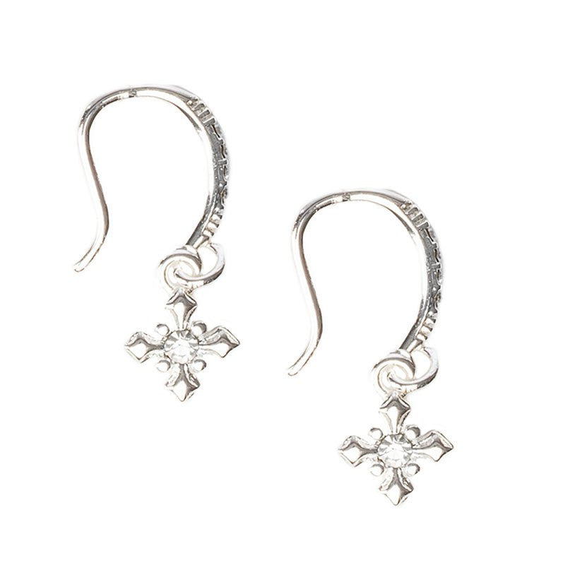 Brilliance Crystal Faith Earrings-My Saint My Hero-Howard's Diamond Center