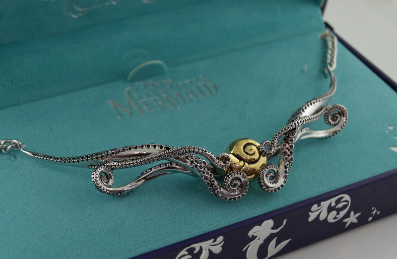 The Little Mermaid Tentacle Collar Necklace