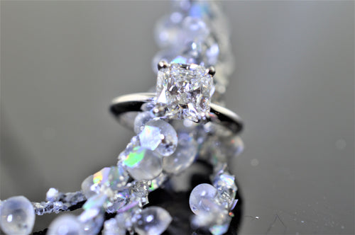 1.84 Carat Radiant Cut Solitaire