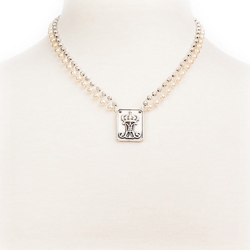 Garment of Grace Necklace-My Saint My Hero-Howard's Diamond Center