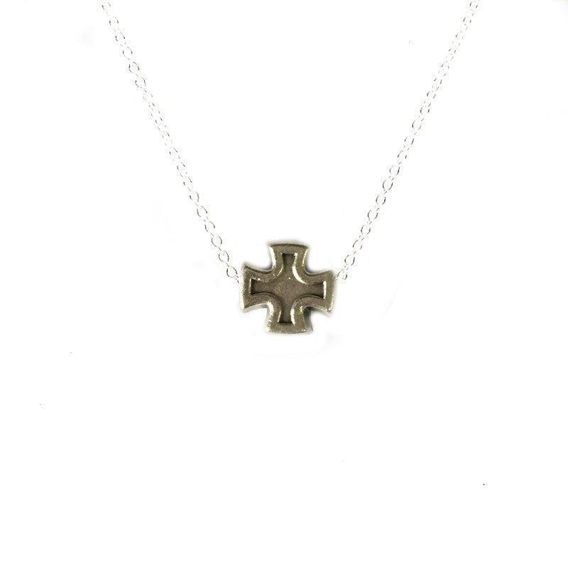 Faith Petite Necklace-My Saint My Hero-Howard's Diamond Center